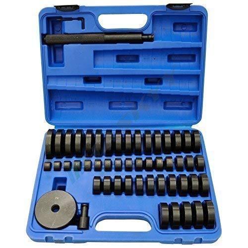 Druckstück Treibsatz Lager Schalen 52 tlg. Montagescheiben Buchsen Simmering, 52 tlg. Druckstück Press Werkzeug