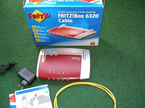 FRITZ!Box 6320 Cable Kabelrouter AVM Fritzbox