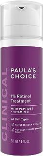 Paula's Choice Clinical 1% Retinol Serum - Suero Crema Antiedad Antiarrugas y Reduce las Manchas - con Peptidos & Vitamin...