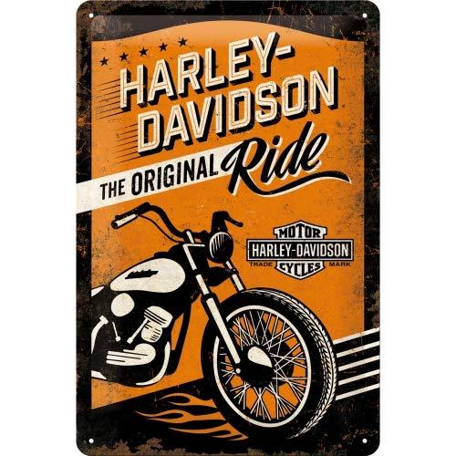 Nostalgic-Art 22237 Harley-Davidson - The Original Ride, Blechschild 20x30 cm