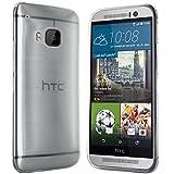 moodie Silikonhülle für HTC One M9 Hülle in Transparent - Case Schutzhülle Tasche für HTC One M9