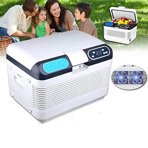 hj Frigoríficos Mini Mini Refrigerador del Coche, 12L 12V/24V/220V/240V Auto Travel Mini Nevera ABS Home Cooler Congelador Calentador Multifunción Portátil Congelador Pequeños