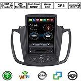 Autoradio Doppel-DIN-Autoradio für Ford Kuga 2013-2017 GPS Navigation Head Unit 9 Zoll Digital Multimedia Player Video-Receiver mit 4G DSP RDS,4+32