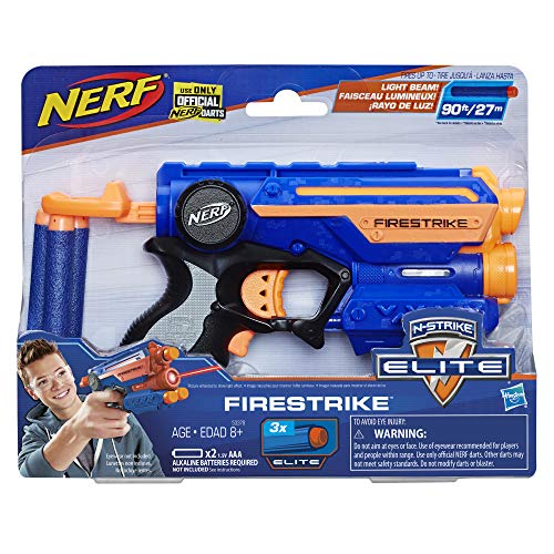 Nerf Plastic N-Strike Elite Fire Strike Blaster, Ages 8 And Up, Multicolor