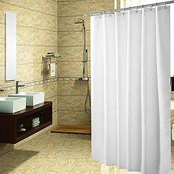 Amazon Com Yoloplus Shower Curtain Liner White 80 X 80 Inch