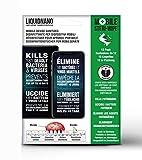 LiquidNano MOBILE STERI-WIPE, désinfectant pour appareil portable, élimine les agents pathogènes, anti-pathogène protection, efficace contre les bactéries et les virus, 12 lingettes