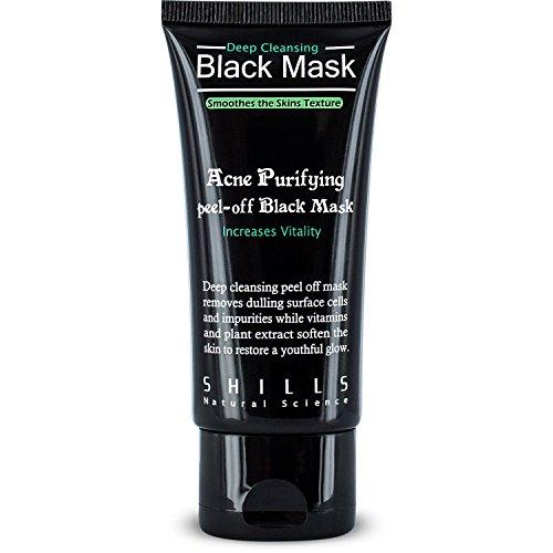 Masque Noir - Masque Purifiant Acné - Acne Purifying peel off Black Mask - SHILLS