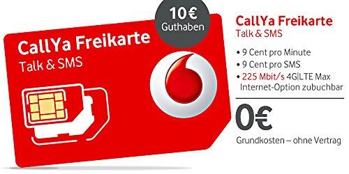 CallYa Talk&SMS - Triple-SIM-Karte mit 10 EUR Guthaben
