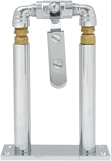 """Grand General 69979 Chrome 7"""" Floor Mount Stand and Air Valve Lever Set for 69991 Train Horn"""