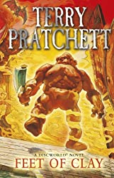 Cover of Feet of Clay by Terry Pratchett