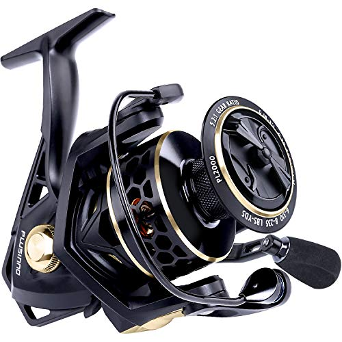 PLUSINNO Fishing Reel, 9 +1BB Spinning...