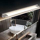 Lámpara LED de Espejo 9W 46CM Aplique Espejo Baño Impermeable IP44 Luz de Maquillaje luz del gabinete de la lámpara para...