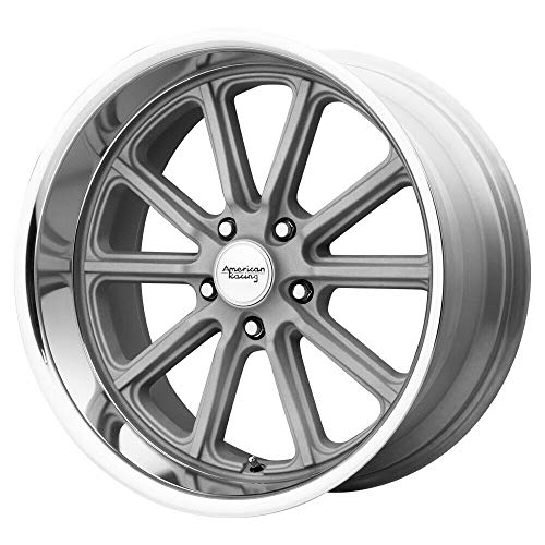 AMERICAN RACING VN507 RODDER Wheel with GRAY and Chromium (hexavalent compounds) (17 x 8. inches /5 x 72 mm, 0 mm Offset) -  VN50778034400