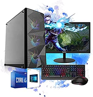 Pc Gamer Completo I5 8gb HD 500 Placa de Vídeo Monitor HDMI