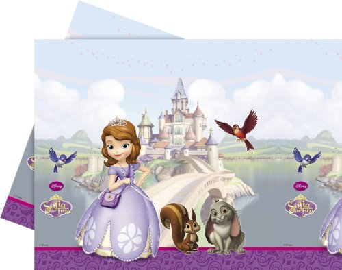 Sofia The First Birthday Party Plastic Tablecover