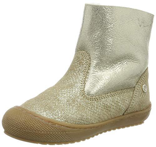 Naturino Mädchen New Cotton Stiefel, Gold (Platino/Ghiaccio 1q47), 23 EU