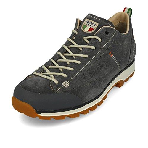 Dolomite Herren Zapato Cinquantaquattro Low Sneaker, GRIS Gunmetal/CANAPA BEIGE, 42.5 EU