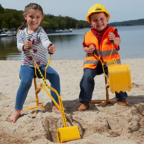The Big Dig working crane is one of the best outdoor toys for kids