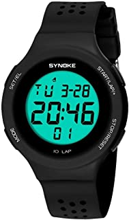 Siviki SYNOKE Multi-Function 50M Watch LED Digital Double Action Watch(Life Waterproof !!!)