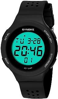 Siviki SYNOKE Multi-Function 50M Watch LED Digital Double Action Watch(Life Waterproof !!!)