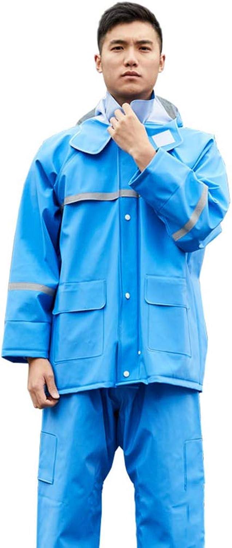 Waterproof Raincoat rain Pants Suit, Adult Full Body Raincoat Waterproof Padded Jacket Riding