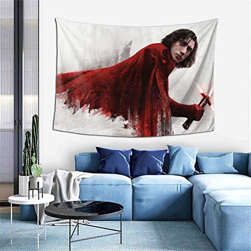 Lsjuee Star W Ky Lo R EN Tapestry Soggiorno Camera da letto Decorazione College Dorm Tenda TV Sfondo Tovaglia 40 x 60 pollici.