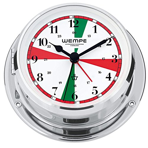 Wempe Chronometerwerke Skiff Funkraum-Schiffsuhr CW090001