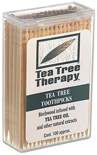 Tea Tree Therapy Zahnstocher Ttree Und Minze 100 CT