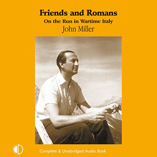 Friends and Romans audiobook cover art