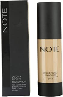 Note Protect Foundation Detox , Beige 03
