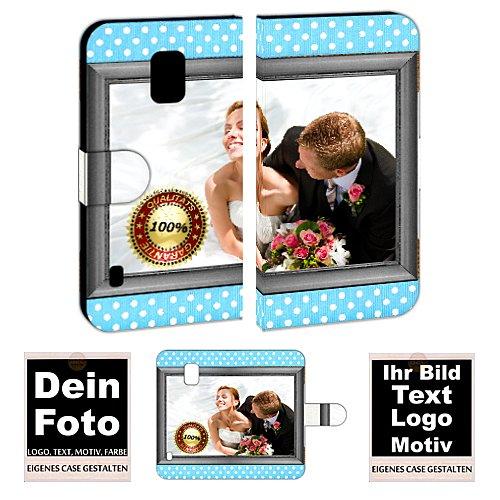 Personalisierte Premium Foto-Handyhülle für Samsung Galaxy-Serie selbst gestalten mit Foto bedrucken (Samsung Galaxy S5 Active, Mit eigenes Foto Text Druck)