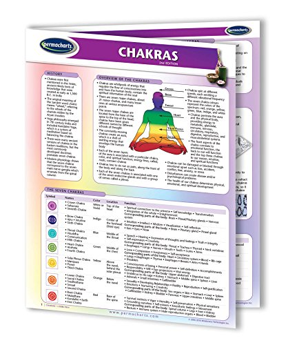 Chakras Guide- Holistic Health Quick Reference Guide by Permacharts