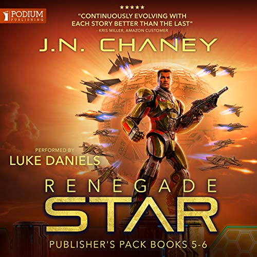 Publisher's Pack 3 - Book 5 & 6 - JN Chaney