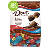 DOVE PROMISES Variety Mix Chocolate Christmas Candy, 43.07-Ounce Bag 150Pieces