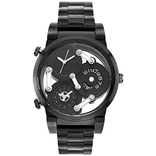 STORM London Tri-Mez Herrenuhr schwarz 47236/SL