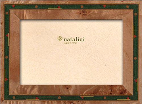 Natalini, GOLF\30 10X15, Cadre photo, Bois, Bois naturel, Mesures exterieures 15 X 20 X 1,5