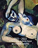 2021- 2022 18 Month Weekly & Monthly Planner July 2021 to December 2022: Henri Matisse - The Blue Nude (Souvenir of Biskra) - Monthly Calendar with ... in Review/Notes 8 x 10 in. Painting Artist