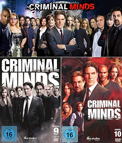 Criminal Minds - Die komplette 9. + 10. Staffel (10-Disc | 2-Boxen)