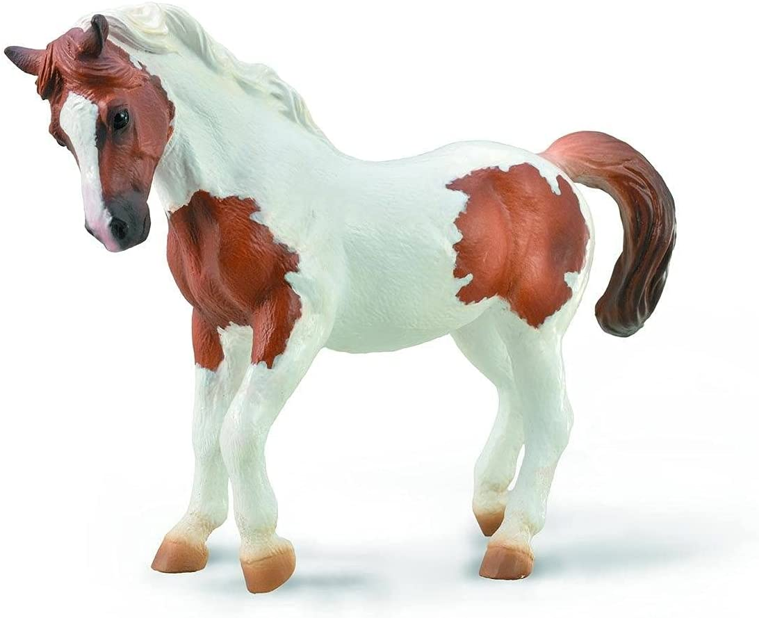 Special price CollectA 88929 Chincoteague Pony Cheap mail order sales Toy Pinto Chestnut Horse