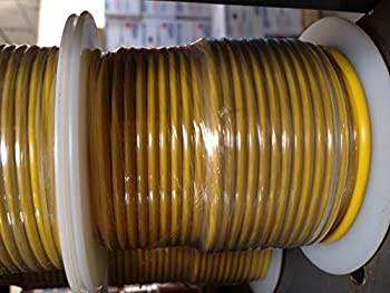 12-Gauge 100-Feet Bulk Spool Yellow Primary Stranded Wire  Made in USA  by A Plus Parts House