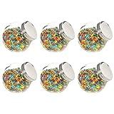 Festnight Tarro de Caramelos Botes para Chuches Candy Bar Tarros 6 unidades 1400...