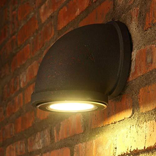 Decoratieve wandlamp, eenkop, loft-lampen, creatieve ladder, kunst, ijzer, wandlamp, café, lampen, voeding: 3 W, lichte wand
