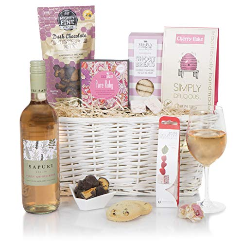 Pretty In Pink Gift Hampers For Her - Hamper For Her - Gift Basket For Friends or Family
