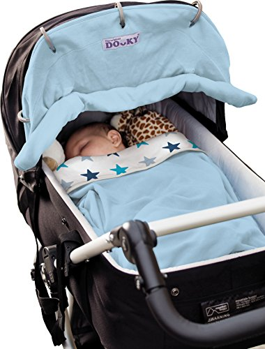 Dooky protector solar para cochecitos de bebé Buggy capazo Diseño Estrellas azules Estrellas