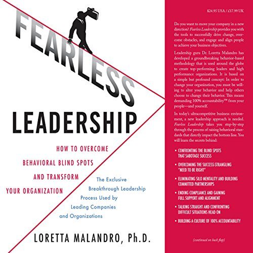 Fearless Leadership audiobook cover art