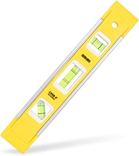 DOWELL 9 Inch Magnetic Box Level Torpedo Level,3 Different..