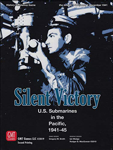 GMT Games Silent Victory (2nd Printing)