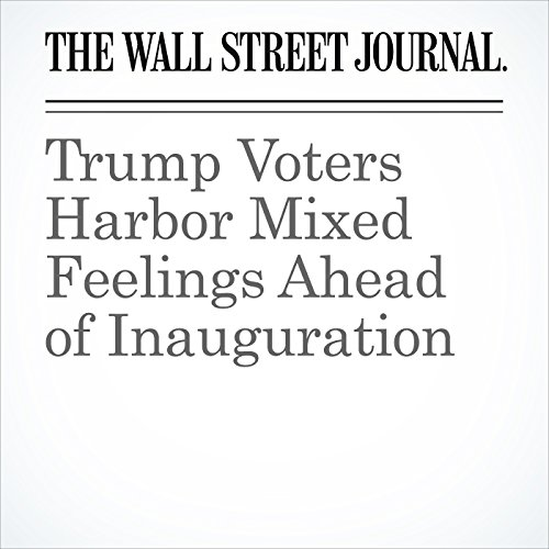 Trump Voters Harbor Mixed Feelings Ahead of Inauguration copertina