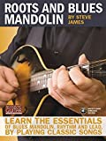 Roots and Blues Mandolin: Learn the Essentials of Blues Mandolin - Rhythm & Lead - By Playing Classic Songs (Acoustic Guitar Private Lessons) by James, Steve (2010) Paperback