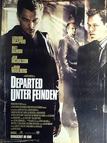 Departed - Unter Feinden - Leonardo DiCaprio - Filmposter A1 84x60cm gerollt